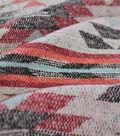 Sportswear Jacquard Fabric 57\u0022-Orange & Red Triangle Aztec