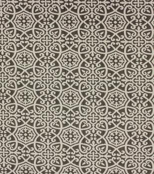 Optimum Performance Multi-Purpose Decor Fabric 54''-Pewter Geometrics