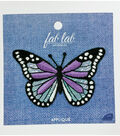 Fab Lab Wearables Butterfly Iron-on Applique-Purple