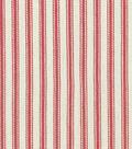 Waverly Upholstery Fabric 13x13\u0022 Swatch-Classic Ticking Americana