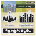 Penny Black Cling Rubber Stamp City Lights