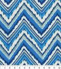 Dena Deisgn Home Decor 8\u0022x8\u0022 Swatch-Chevron Charade Sapphire
