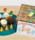 Fiskars 20 pk Clear Stamps-Woodland Party