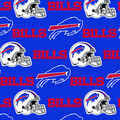 Buffalo Bills Cotton Fabric -Blue