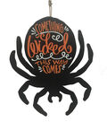Maker\u0027s Halloween Spider Wall Decor-Something Wicked this Way Comes
