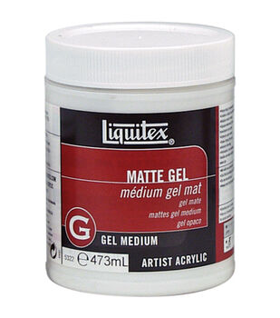 Liquitex 16 oz. Matte Acrylic Gel Medium