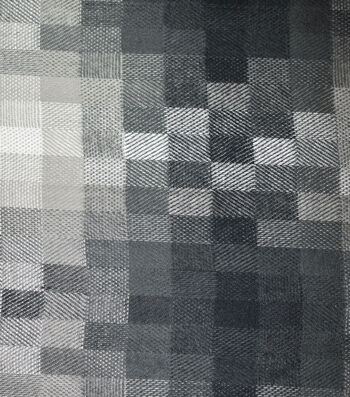 "Sportswear Acrylic Fabric 52""-Gray Pixel Squares"