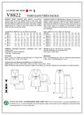 Mccall Pattern V8822 A5 (6-8-10-Vogue Pattern
