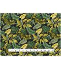Novelty Cotton Fabric 44\u0022-Jungle Leaves & Ferns