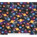 Super Snuggle Flannel Fabric-Galaxy Planets