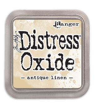 Ranger Tim Holtz 3''x3'' Distress Oxide Ink Pad-Antique Linen