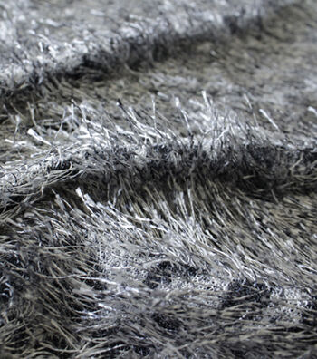 "The Witching Hour Knit Fabric 58""-Animal Print Hairy Black"
