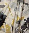 Waverly Multi-Purpose Decor Fabric 54\u0027\u0027-Leaf Storm Graphite