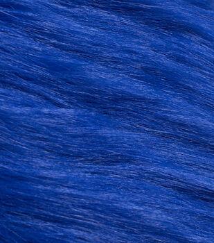 Fashion Faux Fur Fabric -Dark Blue