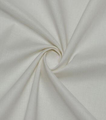 Premium Cotton Fabric 44''-Poppy Ivory