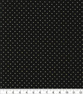 Keepsake Calico Cotton Fabric-Diamond Dew Drop Black