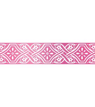 Couture Creations C'est La Vie 3.9''x0.7'' Hotfoil Stamp-Vintage Border