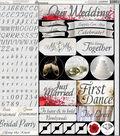 Wedding Day Variety Stickers 12\u0022X12\u0022