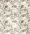 Home Decor 8\u0022x8\u0022 Fabric Swatch-Eaton Square Applegate Rhinestone
