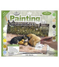 15-1/4\u0022x11-1/4\u0022 Junior Paint By Number Kit-Sleepy Day