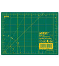 Olfa  Rotary Mat 5.5\u0022 X 7.5\u0022-Green