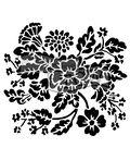 The Crafter\u0027s Workshop Carmen Medlin 6\u0027\u0027x6\u0027\u0027 Stencil-Growing Wild