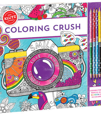 Klutz Coloring Crush Kit