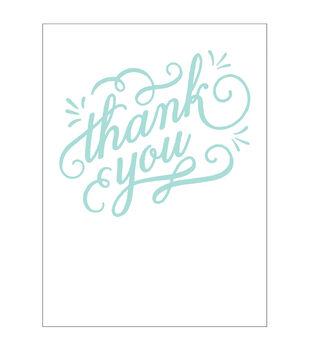 Park Lane A2 Embossing Folder-Thank You