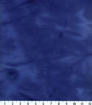 Blizzard Fleece Fabric -Royal Tie Dye