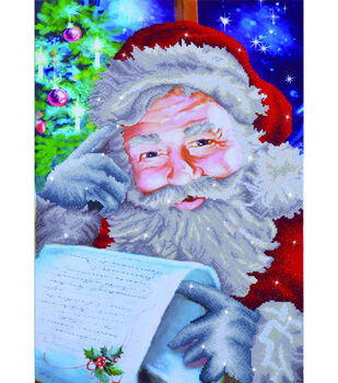 Diamond Dotz Diamond Embroidery Art Kit 22.75''X31.5''-Santa's Wish