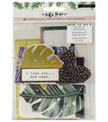 Crate Paper Wild Heart 40 pk Ephemera with Gold Holographic Foil
