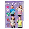 McCall\u0027s Pattern M6691 Children\u0027s Tops-Size 6-7-8