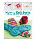 Annie\u0027s Knitting How to Knit Socks Book