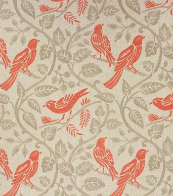 Home Essentials Lightweight Decor Fabric 45''-Blush Birds