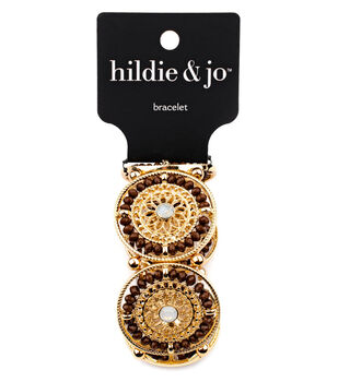 hildie & jo Filegree Stone Stretch Bracelet