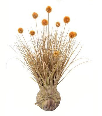 Blooming Autumn Thistle Arrangement-Yellow