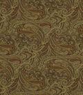 Home Decor 8\u0022x8\u0022 Fabric Swatch-Robert Allen Patna Paisley Spice Fabric