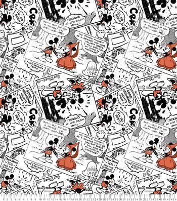 "Disney Mickey & Minnie Fleece Fabric 59""-Prince Micky & Princess Minnie"