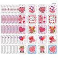 Teacher Created Resources Valentine\u0027s Day Stickers, 120/Pack, 12 Packs