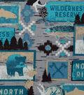 Novelty Cotton Fabric-Wilderness Reserve