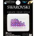 Swarovski Create Your Style 30 pk Hotfix Crystals-Light Siam Shimmer