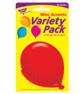 Party Balloons Mini Accents Variety Pack, 36 Per Pack, 6 Packs