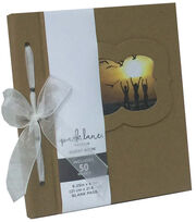 "Park Lane 6""x8"" Guest Book-Kraft, , hi-res"
