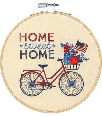 Americana Stitch Kit-Home Sweet Home