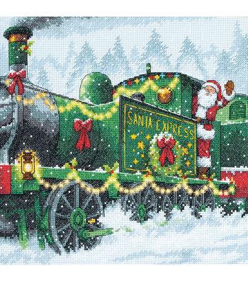 10X10 14Ct-Santa Express