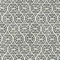 Waverly Sun N Shade Fabric 9\u0022x9\u0022 Swatch-Ulla Charcoal