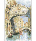Venice Bridge Of Sighs Counted Cross Stitch Kit 14 Count