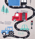No Sew Fleece Throw 48\u0022-Road Transportation