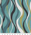 Robert Allen @ Home Print Swatch 55\u0022-Ribbon Line Rain