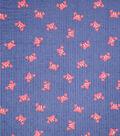 Doodles Textured Fabric 43\u0027\u0027-Tossed Crabs on Navy